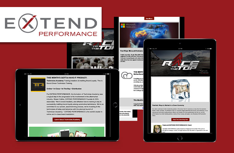 EXTEND PERFORMANCE newsletter